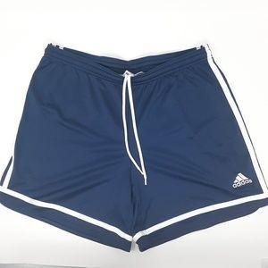 Adidas Clima365 Workout Shorts Navy Blue Medium